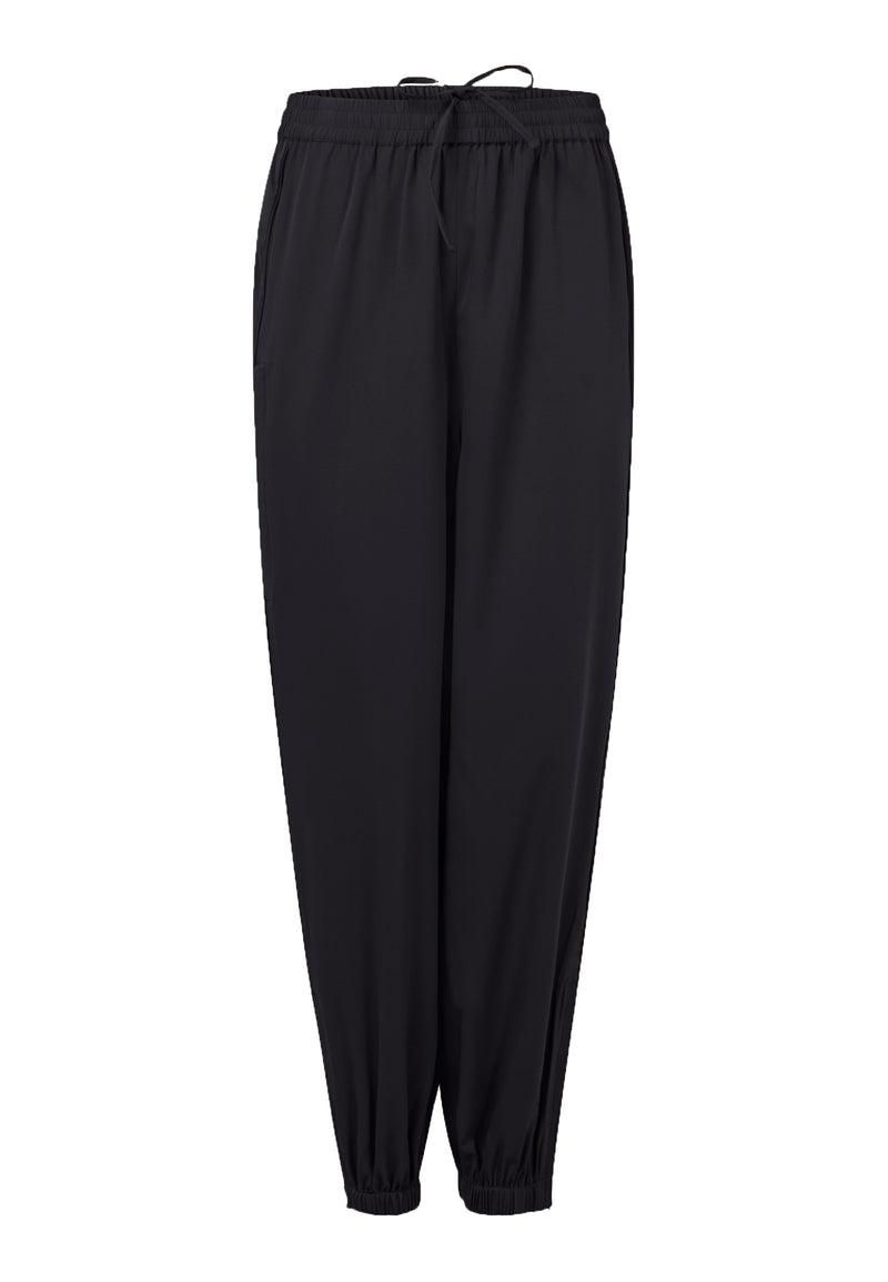 SOCIETY TROUSERS JET BLACK