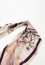 RELIGION Wonderful Skull Print Scarf