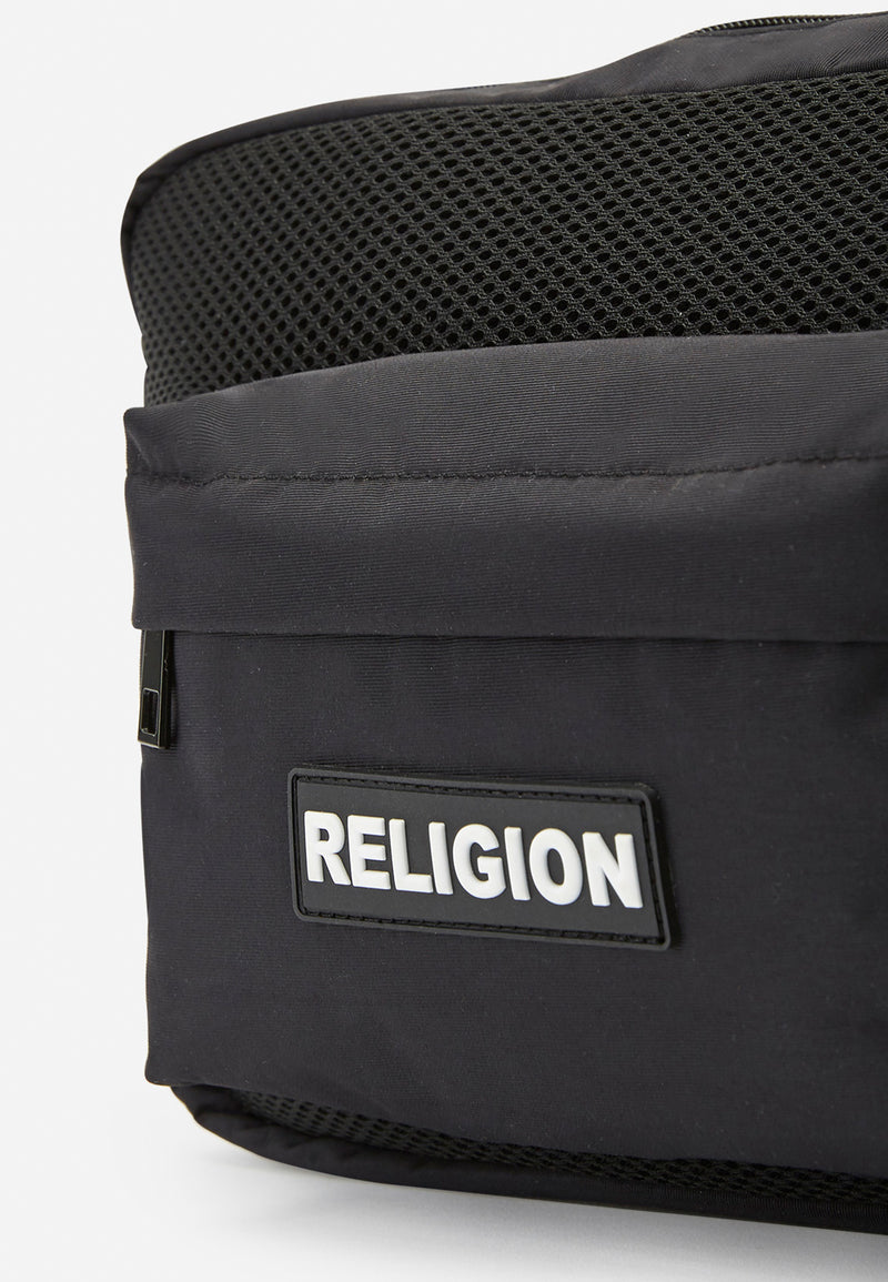 RELIGION Garnet Harness Bag Black