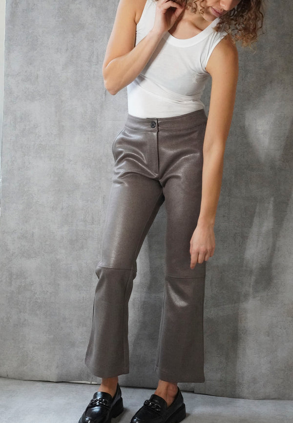 GENTLE TROUSER RAW GREY