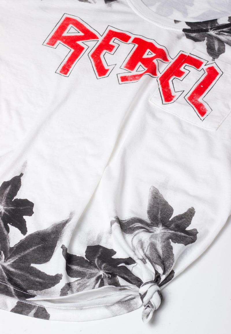 RELIGION Rebel Oversized White T-Shirt