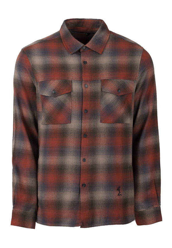 RELIGION Saint All Over Check Shirt