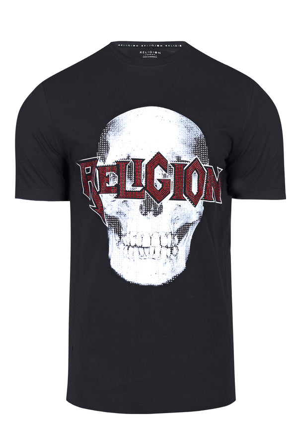 SKELETON BLING T-SHIRT BLACK