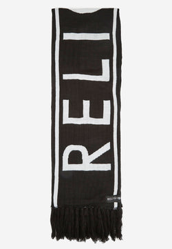 RELIGION Tasseled Miyan Scarf Black