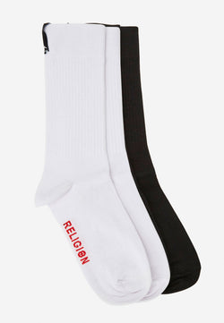 RELIGION Perdita 2 Pack Socks
