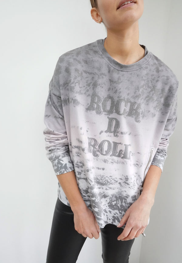 TRACE SWEAT DISTRESSED ANIMAL