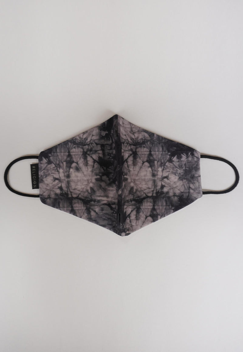 RELIGION Face Mask Smokey Tie Dye