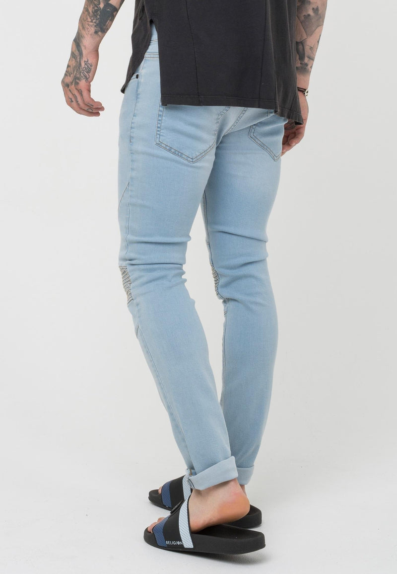 RELIGION Crypt Skinny Jeans 80'S Blue