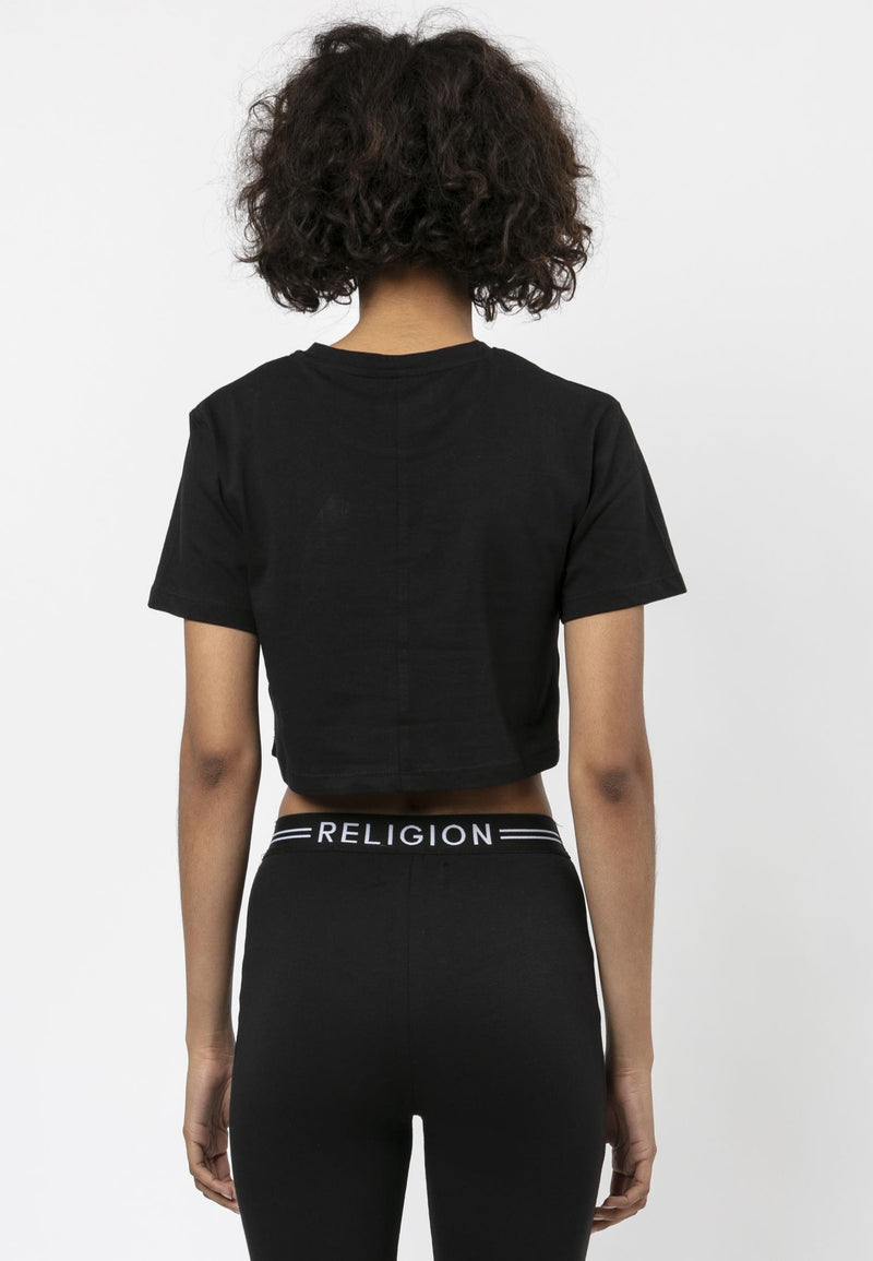 RELIGION Tranquil Boxy Fit Crop T-Shirt