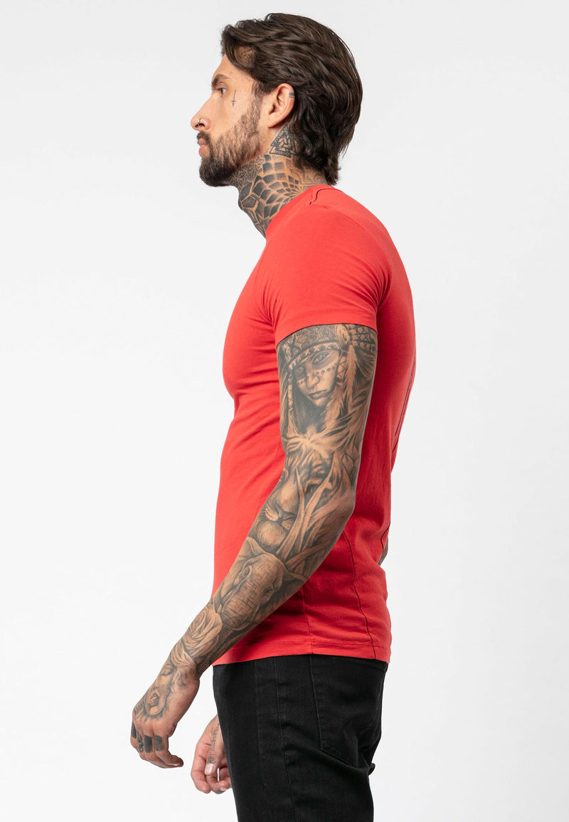 RELIGION Core Organic Red T-Shirt