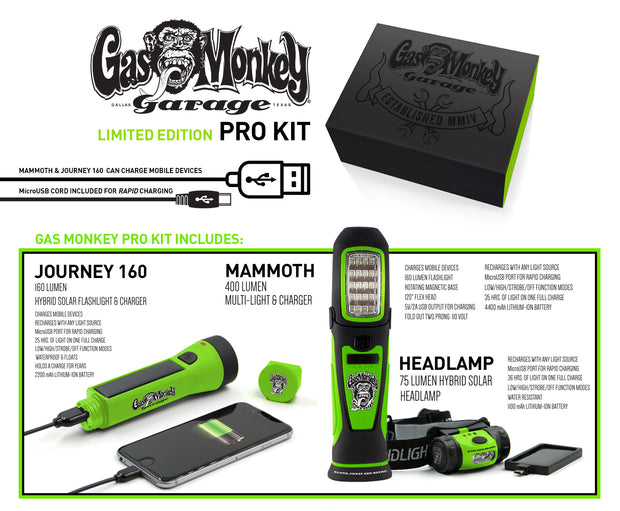 Gas Monkey Garage Pro Kit