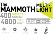 The Mammoth Multi Light/Charger