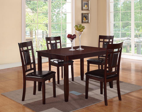 5Pc Regular Height Table Set