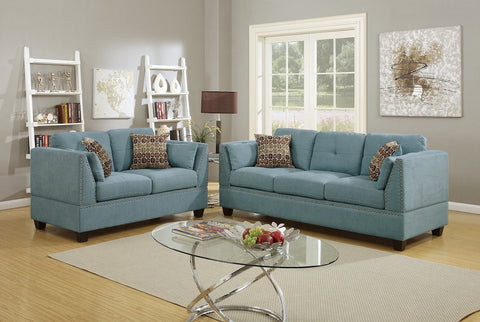 Delicieux High Arm Sofa And Loveseat