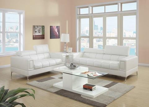 Detailed Stitching Sofa and Loveseat