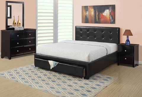 Bedroom Space Decor headboard and an underdrawer for extra storage