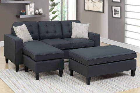 2Pc Sectional + Ottoman