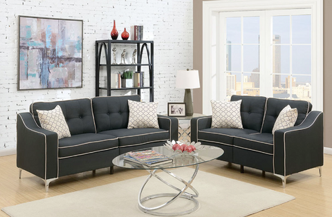 2 PC  Sofa and Loveseat Set