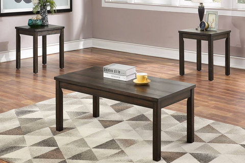 3 PC Coffee Table Set
