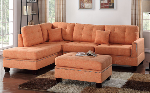 3Pc Sectional Set