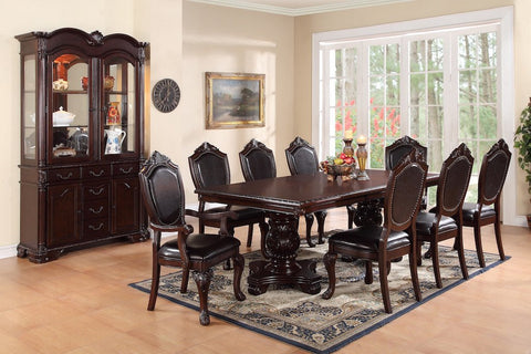 Rich Look Table and Comfy Chairs