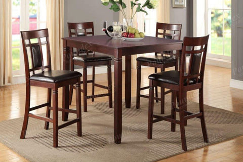 5Pc Counter Height Table Set