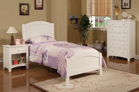 Traditional Styled Twin Bed