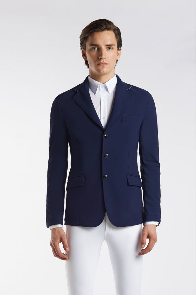 Cavalleria Toscana Knit Collar Riding Jacket