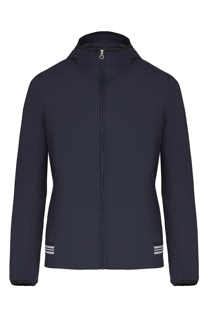 Cavalleria Toscana Knit Insert Hooded Jacket