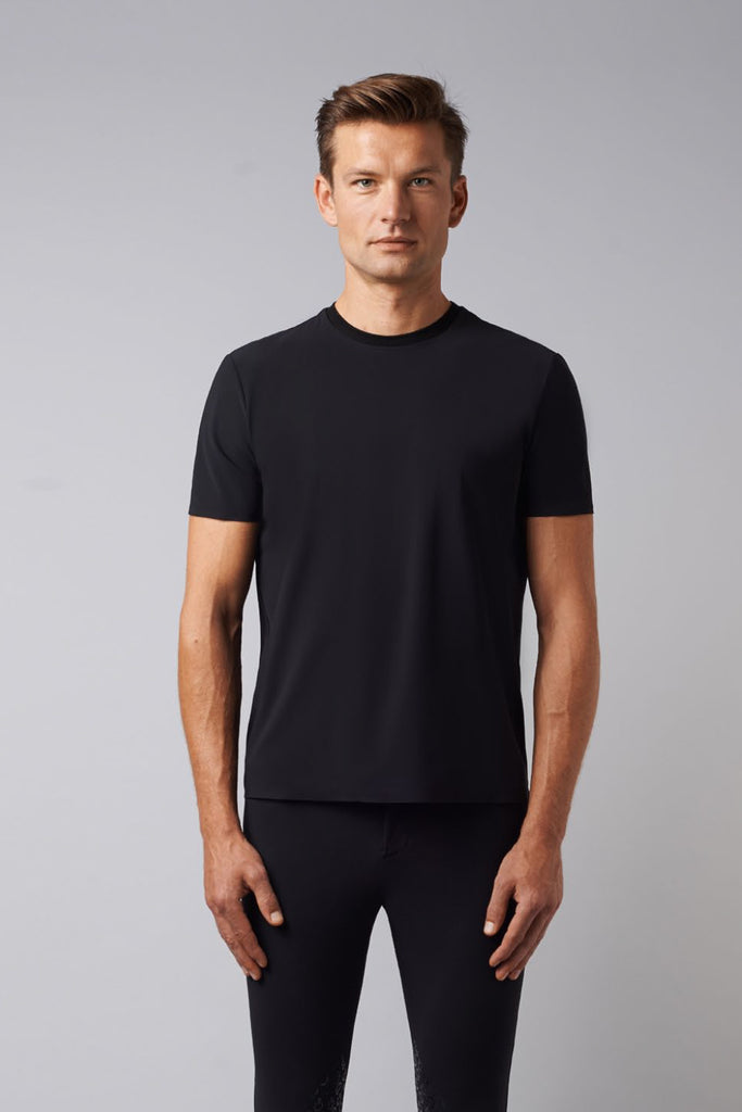 Cavalleria Toscana Degrade Perforated Insert Tshirt