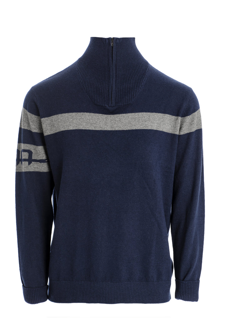 Alessandro Albanese Quarter Zip Knit