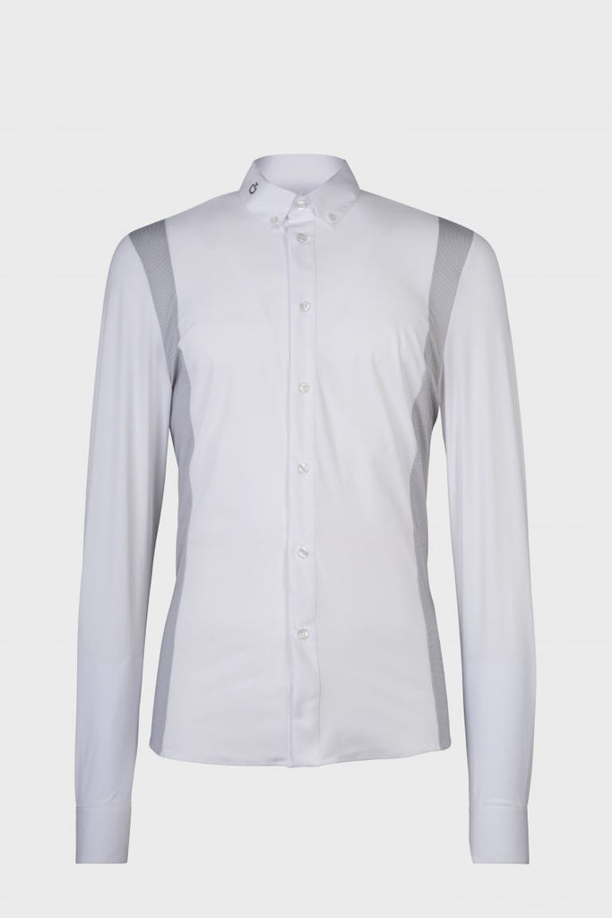 Cavalleria Toscana Cotton Tech/19 L/S Shirt