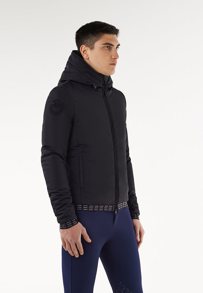 Cavalleria Toscana Fleece Lined Hooded Jacket