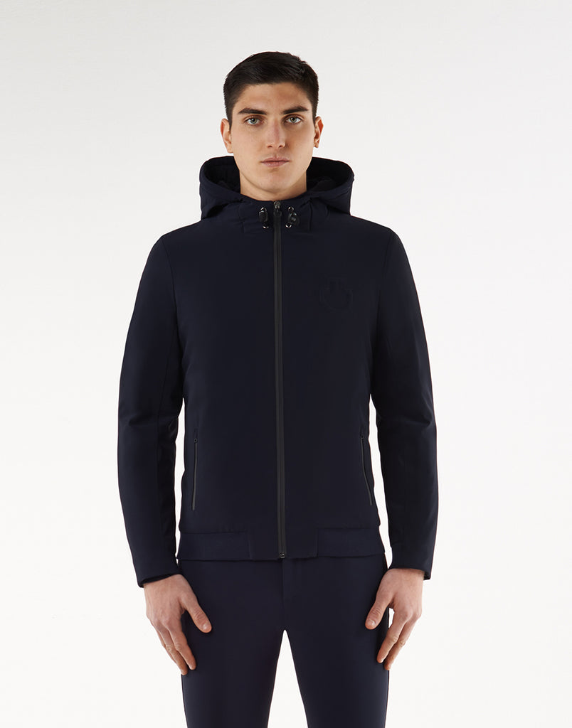 Cavalleria Toscana Jersey Hooded Down Filled Jacket