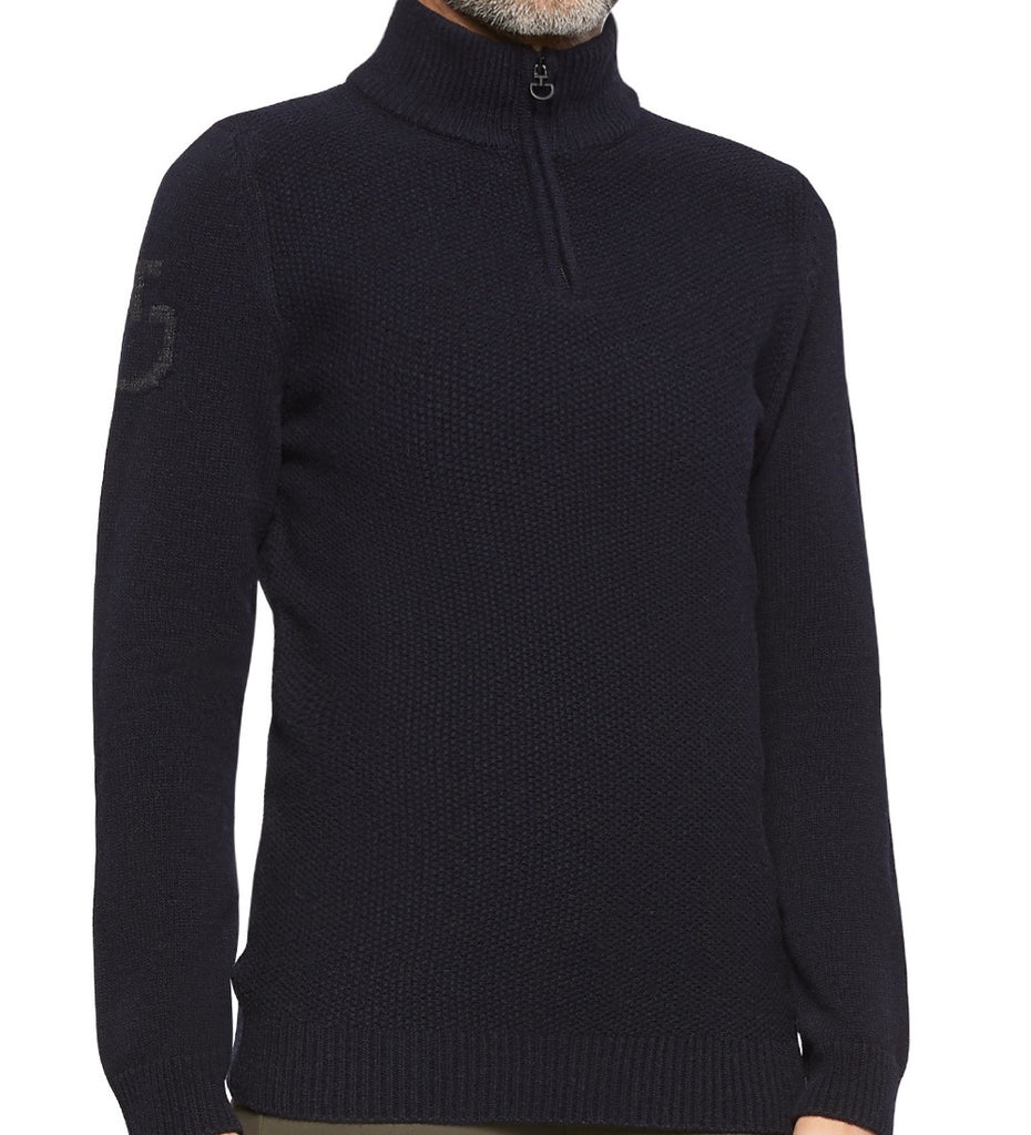 Cavalleria Toscana Half Zip Turtleneck Sweater