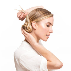 Wrap the Extensions Around the Base of the Ponytail
