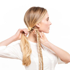 Attach the Extensions to your Ponytail