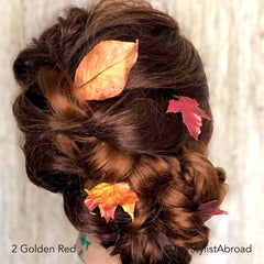 Golden Red Special Occasion Bridal Bun Hairstyle @TheStylistAbroad Easy Updo Extensions