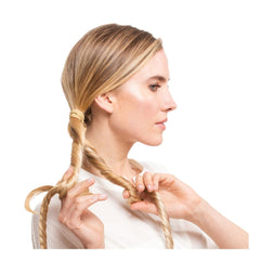 Mix the Extensions with Your Own Hair
