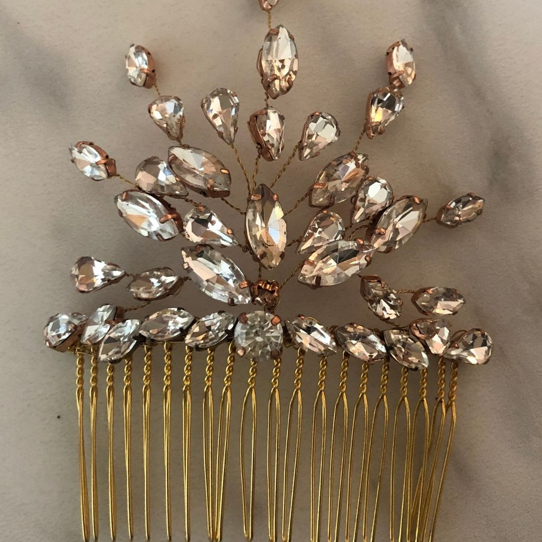 Art Deco Gems Comb