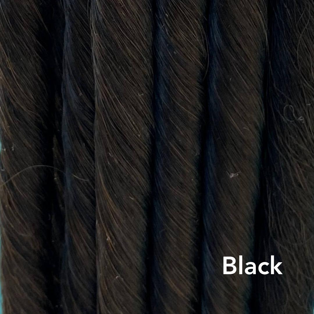 Black Easy Updo Hair Extensions