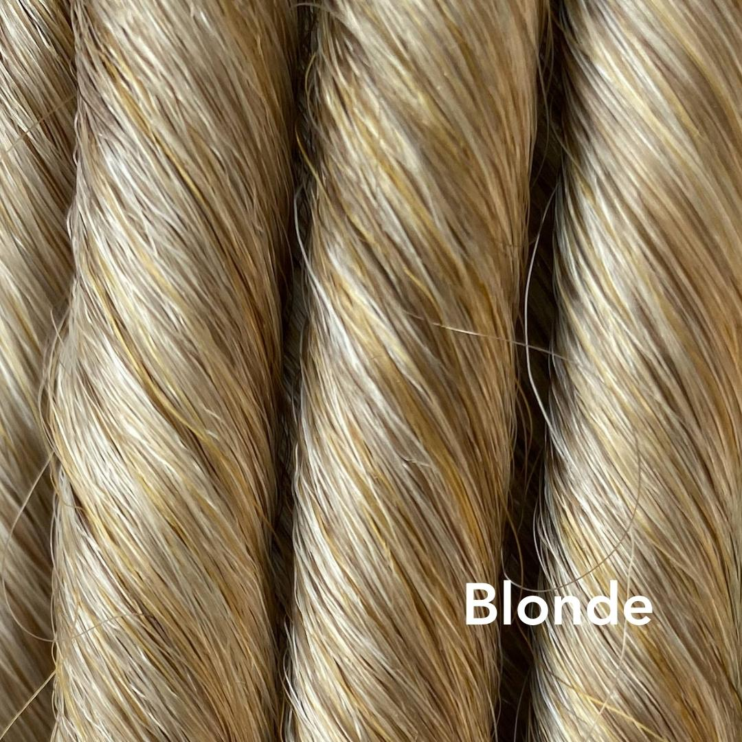 Blonde Easy Updo Extensions Color Sample