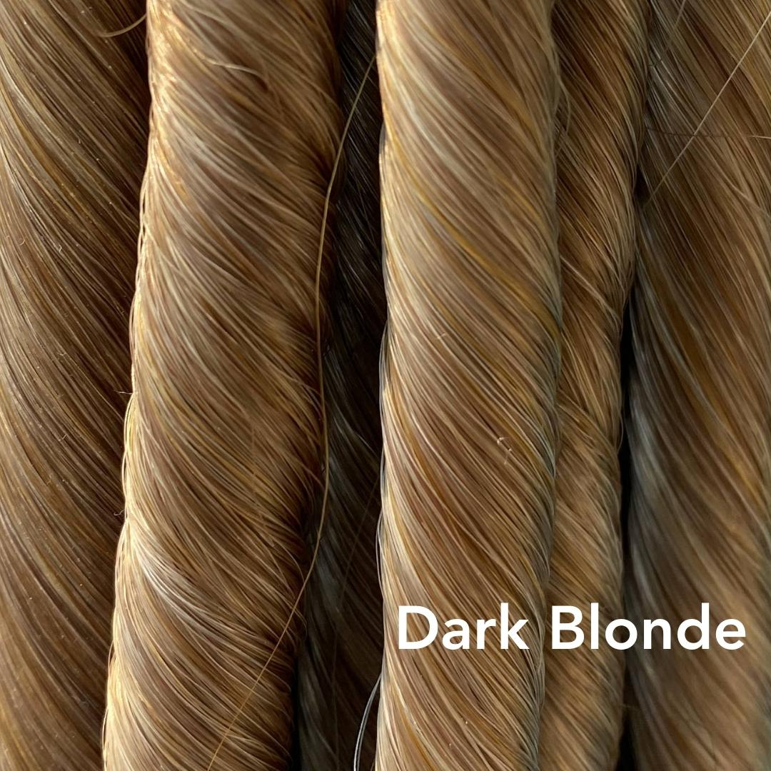 Dark Blonde Easy Updo Extensions Color Sample