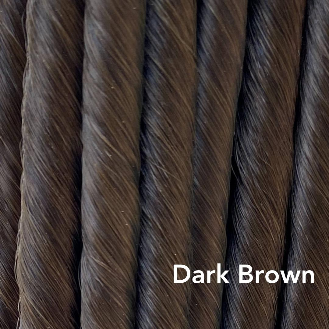 Dark Brown Easy Updo Extensions