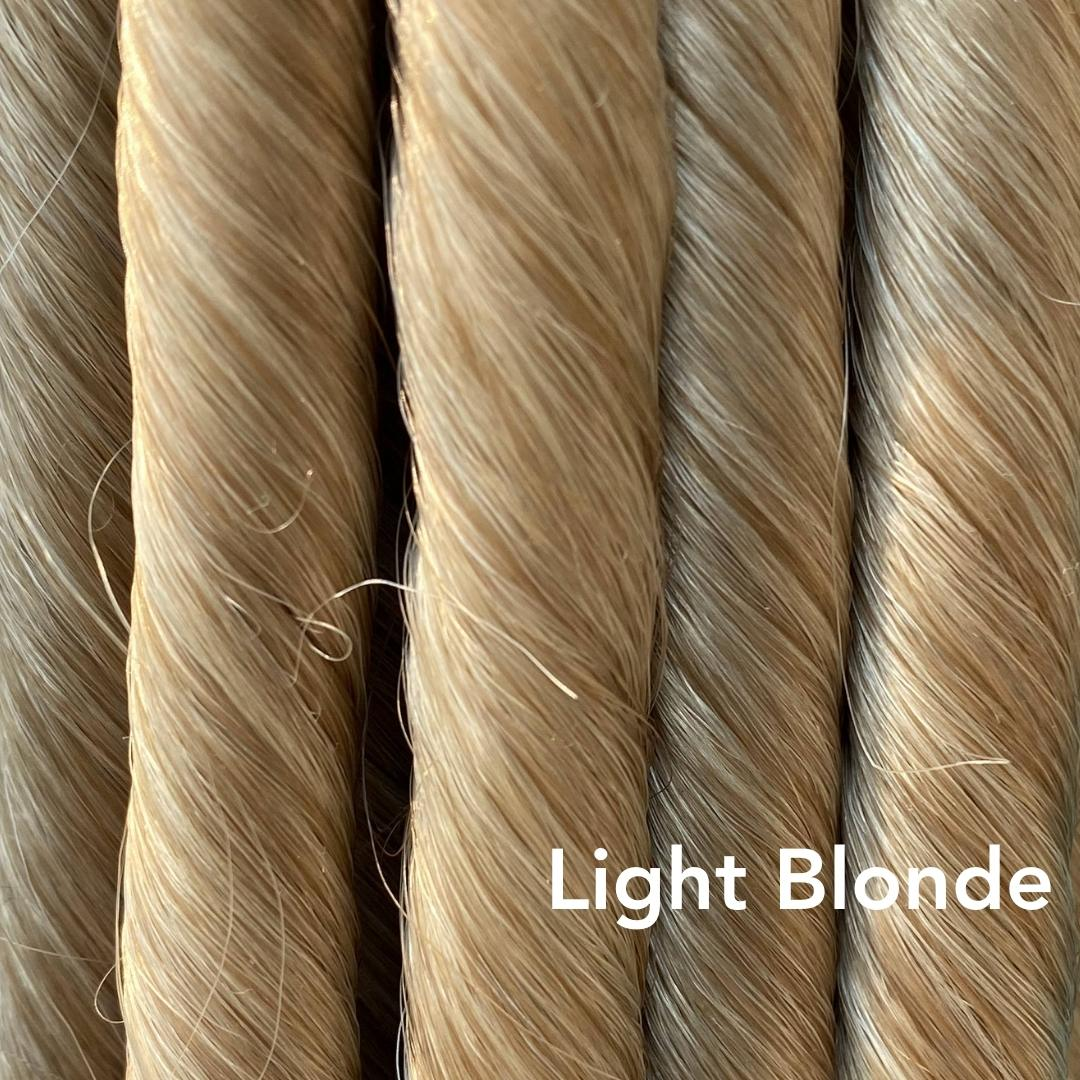 Light Blonde Easy Updo Extensions Color Sample