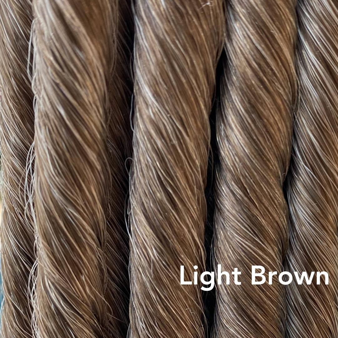 Light Brown Color Easy Updo Hair Extensions