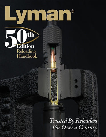 Lyman 50th Reloading Handbook Soft Cover