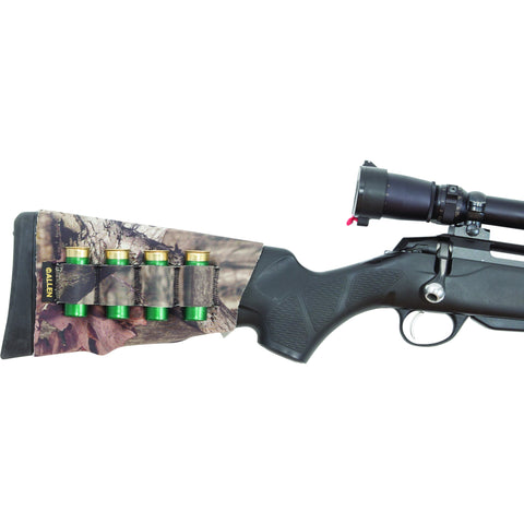 NEOPRENE CAMO STRETCH BUTTSTOCK SHOTGUN SHELL HOLDER