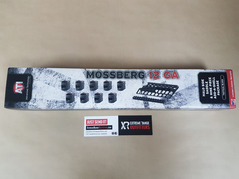 *AUCTION* NEW ATI MOSSBERG 12 GAUGE HALO SIDE SADDLE & 9 PIECE ADD-A-SHELL PACKAGE