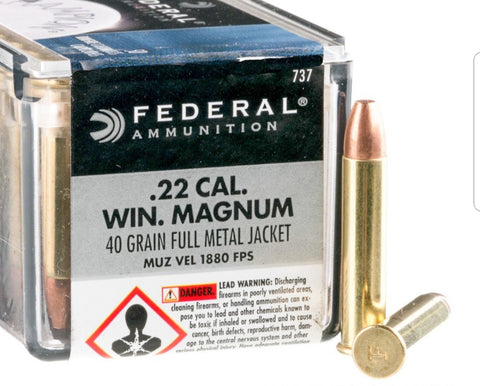 Federal Champion .22 Cal. Win. Magnum